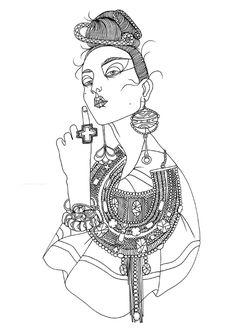 -Liselotte Watkins- #illustration
