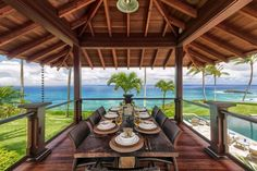 This is a 15-acre beachfront home that you can rent for $10,000 a night