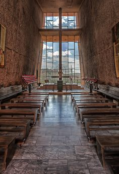 Chapel of the Holy Cross, Sedona, AZ - walking into this church rendered my breathless and weak in the knees.