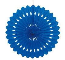 Made from tissue paper, these decorative fans are the perfect hanging decoration for any party or celebration. To create this delicate paper decoration, simply fold out.  It is already pre-folded, so the work is done.  A cardboard tab is at the top, with a white string to make it easy to hang. Size when open on display: 40.64cm or 16in. $3.95