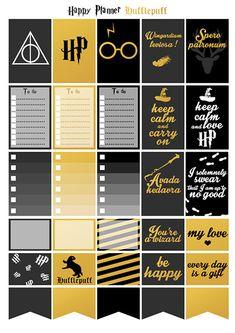 Printable stickers Harry Potter maison par Plus Cadeau Harry Potter, Harry Potter Bricolage, Deco Harry Potter, Harry Potter Classroom, Anniversaire Harry Potter, Theme Harry Potter, Harry Potter Tumblr, Harry Potter Birthday, Harry Potter Planner