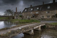 A stormy day in the Cotswolds