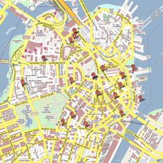 DOWNTOWN BOSTON MAP
