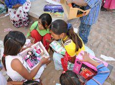 Fundación Coca-Cola celebró el día de Reyes con niños de albergues escolares - Chilanga Banda #Mexico