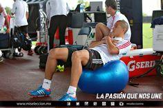 Jorge Torres Nilo durante el entrenamiento