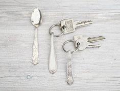 Besteck-Schlüsselanhänger