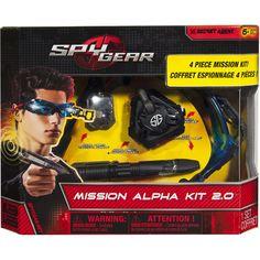 Spy Gear Mission Alpha Kit