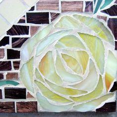 Mosaic Mirror 'Secret Garden'
