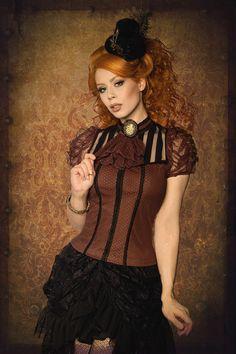 Steampunk-Lace-Shirt