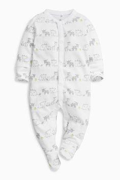 Buy Monochrome Giraffe Sleepsuits Three Pack (0mths-2yrs) from the Next UK  online 1ee369f74123d