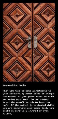 Great beginner woodworking tips at http://gibsonwoodesign.net