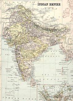 [IRFCA] Indian Railways FAQ: Map of India, 1875