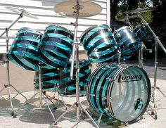 Ludwig - Vistalite tHEESE ARE LIKE MY DREAM DRUMS
