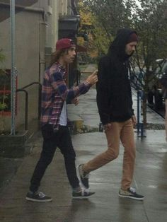 Is Vic scolding Mikey?