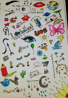 Took forever but was still fun to make Notebook Doodles, Notebook Art, Doodle Art Journals, Hand Doodles, Note Doodles, Sharpie Doodles, Doodle Tattoo, Doodle Drawings, Easy Drawings