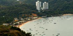 Vista panorámica de la bahía de Puerto Marqués en Acapulco. / Arturo Lara