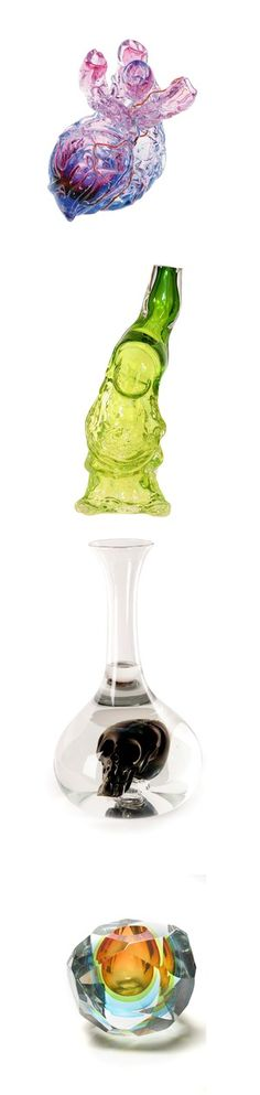 Very unusual vases or decanters - what do you think?