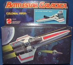 MATTEL: 1978 Battlestar Galactica Colonial Viper #Vintage #Toys