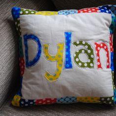 Personalised Cushion - Folksy