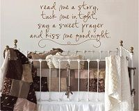 Nursery Wall Quotes for Baby Boys or Baby Girls Gender Neutral