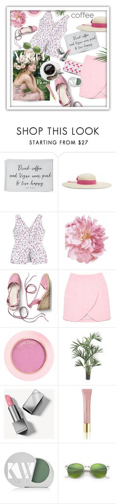 """""""Drink coffee, read Vogue..."""" by queenofsienna ❤ liked on Polyvore featuring Ben's Garden, Sensi Studio, Altuzarra, Gap, 7 For All Mankind, Carven, Nearly Natural, Burberry, AERIN and Kjaer Weis"""