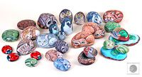 painted rocks animals    And put the letter for each animal on the bottom?