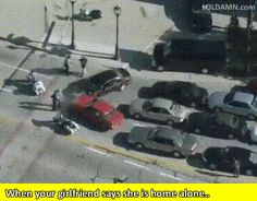 When your girlfriend says she is home alone.. #gif