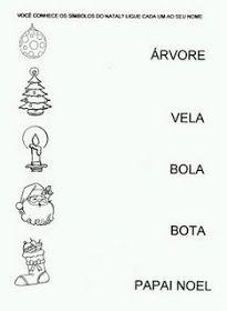 Rosangela.Aprendizagem: Natal/Atividades