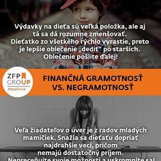 Aj výdavky na dieťa sa dajú efektívne znížiť. #zfp #zfpa #zfpakademia #rozdiel #zima #gramotnost #slovensko #financie #vzdelavanie #up #energie #setrit #financie #akonato #financnagramotnost #dieta #rodina