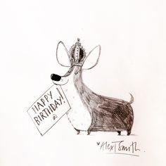 Happy 90th Birthday to Her Majesty Queen Elizabeth by Alex T. Smith