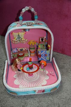 OOAK Handmade Doll House & Furniture ~ for that special girl!  https://www.etsy.com/shop/SUGARSHE