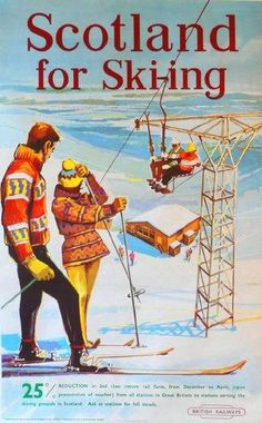Vintage Travel Poster, Scotland 1956                                                                                                                                                                                 More