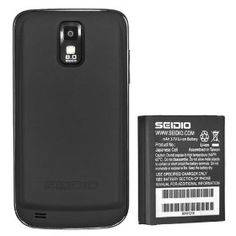 Seidio Innocell 3800mAh Extended Battery for Samsung Galaxy S II SGH-T989 (T-Mobile)  Click here to Order ==> http://www.amazon.com/dp/B007BUSEAA/?tag=nanza-20