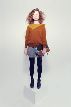 Jumper Sonia Mustard/Caramel