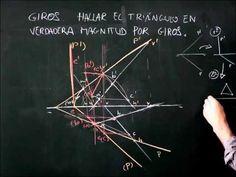 Sistema diédrico, giros, hallar la verdadera magnitud de un triángulo ob...