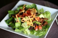 Taco Salad - Your Specialty Weight Loss Blog | Healthy Eating Recipes | Better Weight Loss Methods | Healthy Recipes for Weight Loss | Low Calorie Recipes | Better Health and Fitness Tips | The Best Fitness Tips and Advice | Lose Weight Fast | Lose Weight Meal Plan