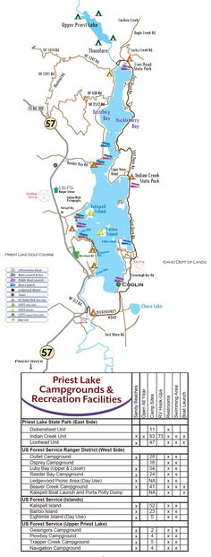 36 Best priest lake idaho images