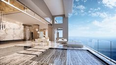 Travel through time...Swim in the clouds in Mansions at Acqualina