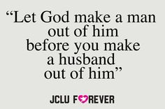 Husband from God