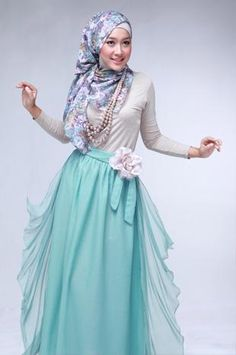 http://abayatrade.com Beautiful Skirt #Hijab