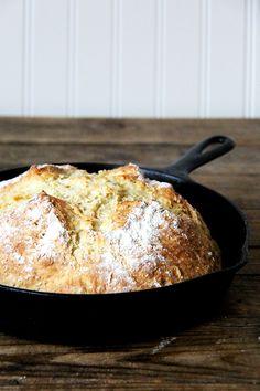 just-baked Irish soda bread//alexandra cooks