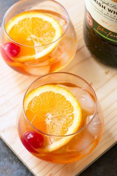 Jameson Old Fashioned from @cakenknife