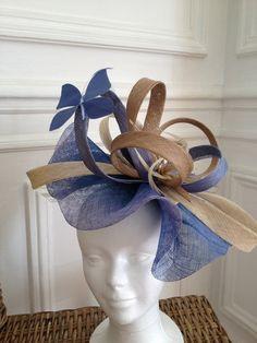 Chapeau de mariage, bibi création http://www.un-chapeau-a-auteuil.fr 175 euros + 15 euros frais de port pour la France.