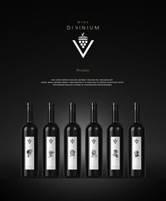 Divinium Wine on Behance