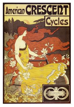American Crescent Cycles, 1899     vintage_ads: Contest entry - American Crescent Cycles - 1899
