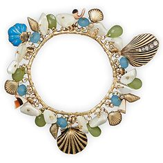 Gold Tone Sea Shore Themed Stretch Fashion Bracelet Suzy B. Accessories http://www.amazon.com/dp/B013R7WZTQ/ref=cm_sw_r_pi_dp_1wIYvb1NVQTZ2