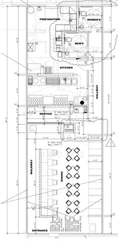 Designing, Building and Opening Vietnamese Pho Restaurants Restaurant Floor Plan, Restaurant Plan, Hotel Floor Plan, Restaurant Kitchen, Restaurant Design, Chinese Restaurant, Sketch Bar, Plan Sketch, Vietnamese Pho