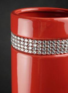 "Red Diamond Tiara 20""  Ceramic Vases $15 each / 3 for $14 each"