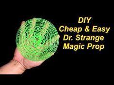 DIY Dr Strange Costume Easy Magic Circle Prop - YouTube