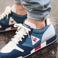 """578 Likes, 27 Comments - Afew Store (@afewstore) on Instagram: """"""""Le Coq Sportif Omega Original"""" •Real Teal• 